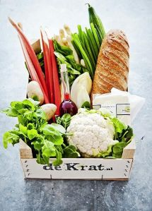 De Krat organic whole foods from local farmers. Biologisch eten in Amsterdam.