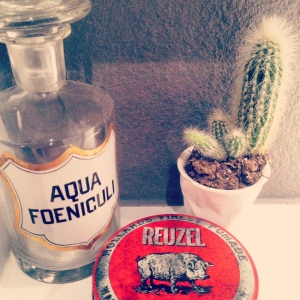 Reuzel Gel, Vergulde Hand shaving items, Old Spice Deoderant. Man Items styling beauty products skin care brands and packaging branding logo cactus aqua foeniculi bottle antique on www.littlebrookroad.com inspiration blog interior