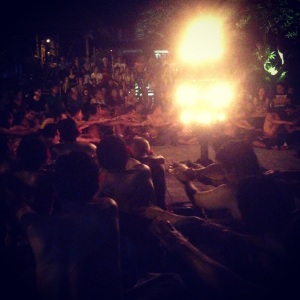 UBUD BALI INDONESIA: THE BEST PLACES WE DISCOVERED AND THINGS TO DO WHILE TRAVELING. Kecak singing and dancing in Ubud. Want to read more travel adventures, follow me on my travelblog www.littlebrookroad.com #HeHoLetsGo #wanderlust #travelblogger #blogger #traveler #backpacker #vacationtips #traveltips #sightseeing #mustdo #mustsee #traveltheworld #travelgram #traveling #traveldiaries #travelgram #travelpics #traveladdict #Backpack #adventure #ttot #hiddengem #discovery #journey @littlebrookroad